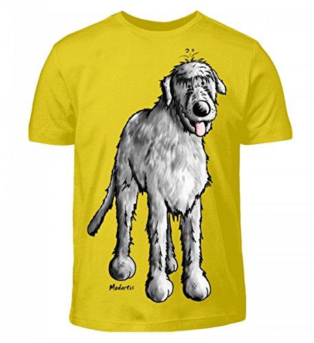 Shirtee Irischer Hund Kinder Comic Wolfshund Indischgelb Lustiger Hochwertiges 8qax8r