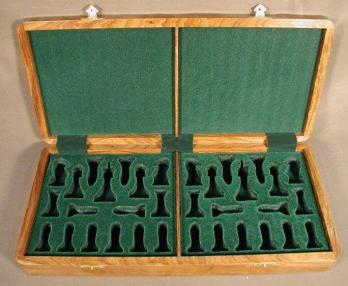 Boîte de présentation en teck