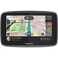 TomTom GO 5200 - Navegador 5 pulgadas, llamadas manos libres, Siri y Google Now, actualizaciones viaWi-Fi, traffic para toda la vida mediante tarjeta SIM y mapas del mundo, mensajes de smartphone
