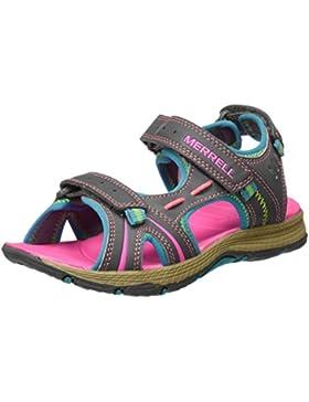 MerrellPanther Sandal - Para usar al aire libre. Unisex Niños
