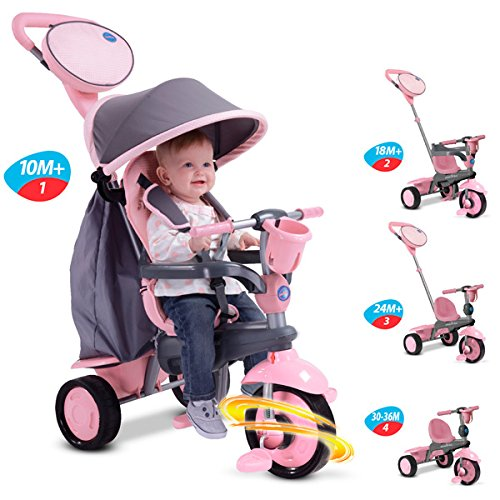 Smart Trike SWING TRIKE Pink/Grey (Versand aus UK)