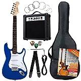 Rocktile Banger's Pack Set Chitarra Elettrica, Blu