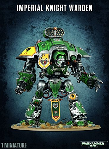 Games Workshop 99120108010 Imperial Knight Warden Plastic Kit