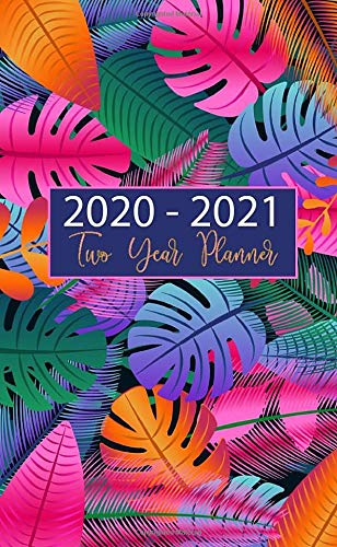 2020-2021 Two Year Planner: Pocket Monthly Planner. 24-Month  Planner & Calendar. Size: 4.0