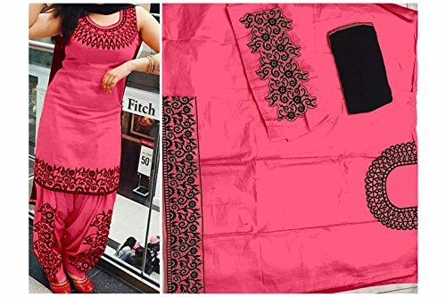 marvadi collections New Arrival Red Long Anarkali Bollywood Replica Designer Salwar Suit  available at amazon for Rs.425