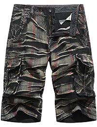 Lenfesh VêTements De Sport Chemises Nouveaux Pantalons pour Hommes  Occasionnels Pantalons De Camouflage De L  822b743578c