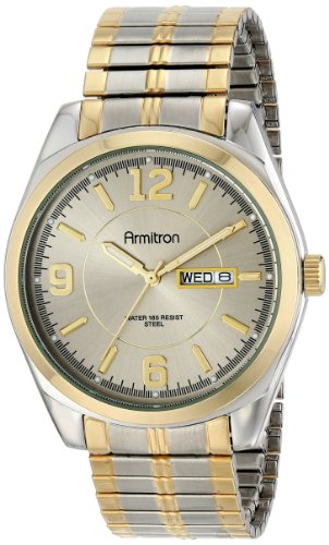 armitron-mens-204591gytt-two-tone-expansion-band-dress-watch