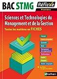 Toutes les matières en FICHES 1re STMG - Sciences et Technologies du Management et de la Gestion (01)