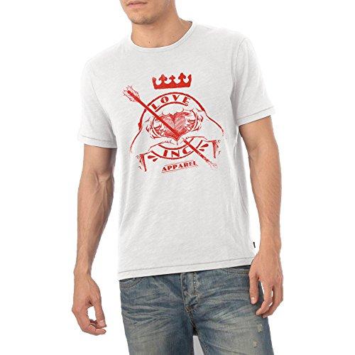 TWISTED ENVYHerren T-Shirt Weiß - Weiß