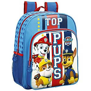 Safta Mochila Escolar Junior Paw Patrol «Top Pups» Oficial 320x120x380mm