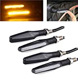 #9: Delhi Traderss 4X Motorcycle Amber Led Turn Signal Indicators Light Lamp For-Yamaha Fz-S