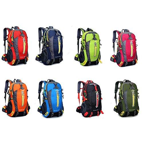 Aeoss Outdoor Travel school college Backpack Bag Unisex Climbing Backpack  Waterproof Mountaineering Nylon Camping Hiking Backpacks e4da8c8aaf6a2