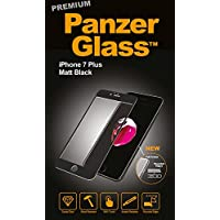 PanzerGlass PG2604 Matte screen protector iPhone 7 Plus 1pieza(s) - Protector de pantalla (Matte screen protector, Apple, iPhone 7 Plus, Resistente a arañazos, Negro, 1 pieza(s))