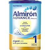 Almirón Advance Leche en polvo con Pronutra Digest 1, desde 0 meses - 800 gramos