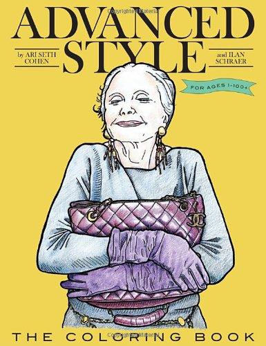 Advanced Style Coloring Book /Anglais