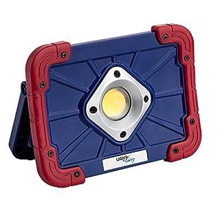 Light-N-Carry LNC2150 Arbeitsleuchte mit magnetischem Sockel, wiederaufladbar, COB LED, 1.000 Lumen