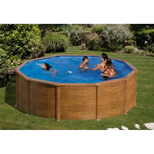 SAN MARINA POOLS - KIT DE PISCINA DE CHAPA PACIFIC 460 X 120 CM