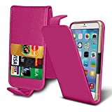 PHONE Accessories PACK: FLIP + POWER BANK ( Pink ) case for Argos Alba 4 Inch case cover pouch High Quality Thin Faux Leather Holdit Spring Clamp Clip on Adjustable Flip case cover Skin With Credit/Debit Argos Alba 4 Inch case by i-Tronixs