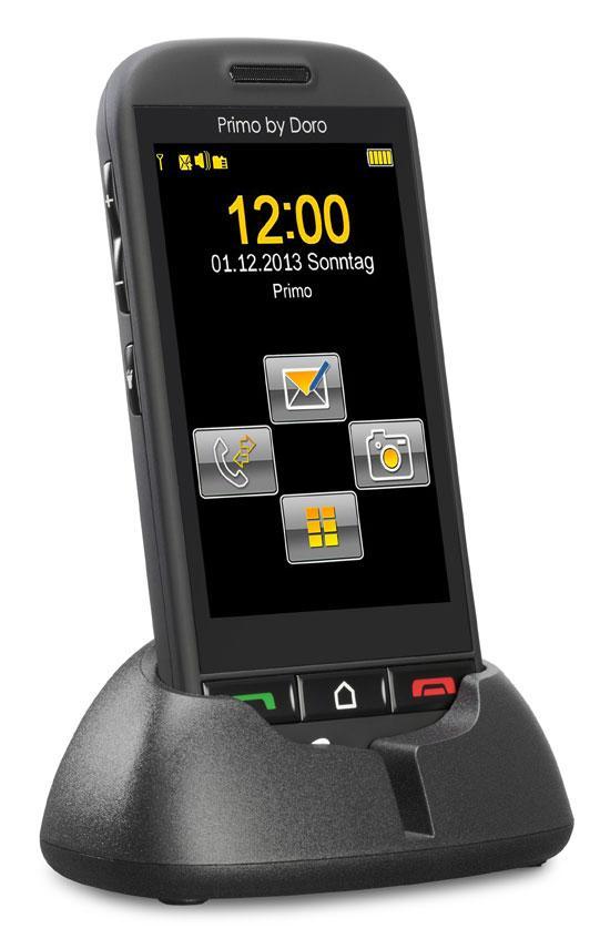primo 571 by doro gsm mobiltelefon mit gro em 3 5 zoll 8 9 cm touchscreen ebay. Black Bedroom Furniture Sets. Home Design Ideas