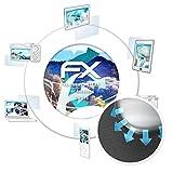 atFoliX Schutzfolie für AsiaLong SW016 Folie - 3 x FX-Curved-Clear Flexible Displayschutzfolie für gewölbte Displays