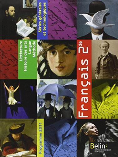 Français 2e : Programme 2011, format compact