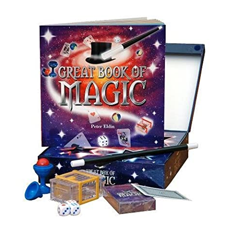 Great Box of Magic - Box Set: The ultimate magic kit for all budding magicians. Contains 48-page full-colour magic book, magic want and great tricks, ... floating match and magic coin box (Big Box)