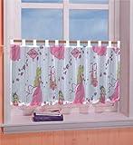 Kinderzimmer Scheibengardine Panneaux Prinzessin Motiv 50 x 150 cm