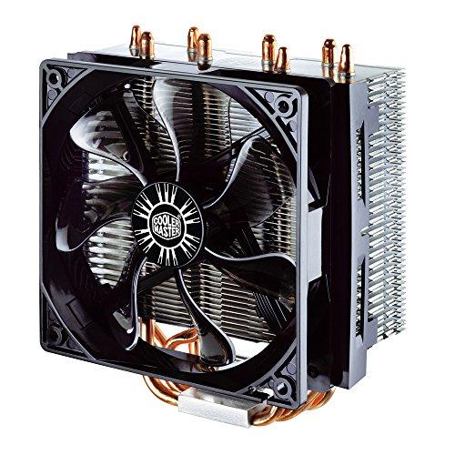 Cooler Master Hyper T4 - Ventiladores de CPU '4 Heatpipes, 1x Ventilador PWM de 120mm, 4-Pin Connector' RR-T4-18PK-R1