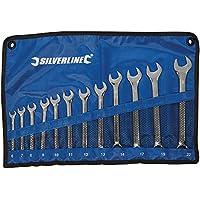 Silverline 633799 Combination Spanner Set 6-22 mm - 12 Pieces