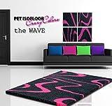 Pet Isofloor SX 150 x 100 cm Wave pink