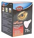 Trixie 76101 Keramik Infrarot-Wärmestrahler, 75 W ø 75/100 mm