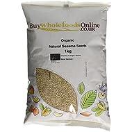 Buy Whole Foods Organic Natural Sesame Seeds, 1 Kg