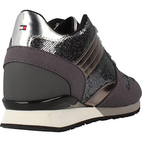 Sport scarpe per le donne, colore Grigio , marca TOMMY HILFIGER, modello Sport Scarpe Per Le Donne TOMMY HILFIGER SADY 13C1 Grigio Nero