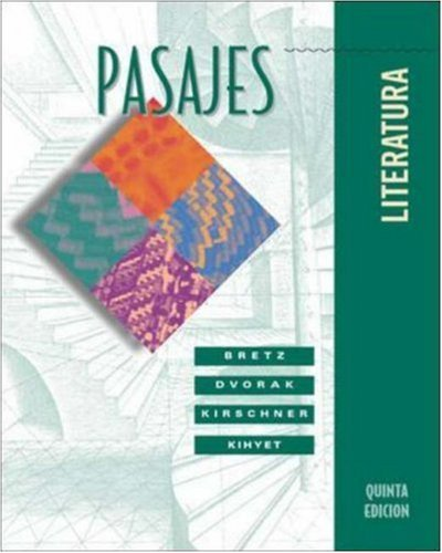 Pasajes: Literatura by Mary Lee Bretz (2002-06-12)