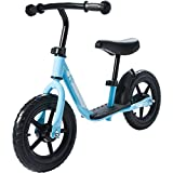Best UK Toddler Bicycle Balance Bike for 2-5 Years Age Old Kids Strider Push Training Bike without Pedals (Blue)