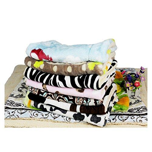 Weiche Betten für großen kleinen Hund Haus neue Ankunft große Hund Große Haustiere Betten weiche hohe Qualität Pad mehrfarbig Katzen Hund Matte (S M L) inkl. Hunde-decken (100*70cm) - 6