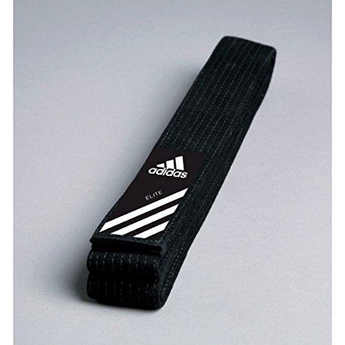 Adidas Elite Belt Gürtel Schwarz Judogürtel, Karategürtel, Taekwondogürtel