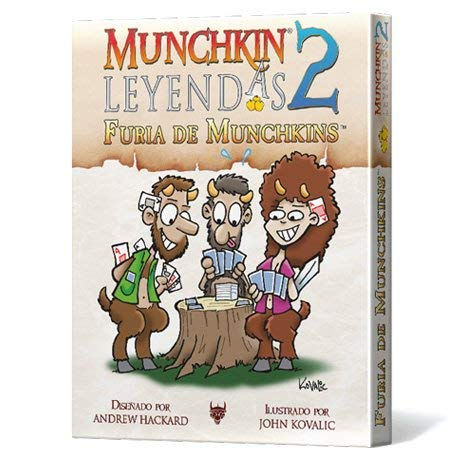 Edge Entertainment- Leyendas 2: Furia de Munchkins (EESJML02)