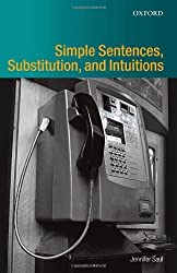 Simple Sentences, Substitution, and Intuitions by Jennifer M. Saul (2007-04-26)