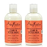 Shea Moisture Curl And Style Milk 8oz Coconut & Hibiscus (2 Pack) - Best Reviews Guide