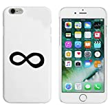 Azeeda Blanco 'Símbolo Infinito' Funda / Carcasa para iPhone 6 y 6s (MC00004390)