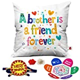 Best Little Brother - Indigifts A Brother Is A Friend Printed Micro Review