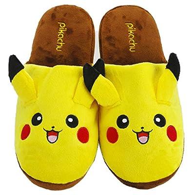 keysm Tipo Pokemon Peluche Pikachu Zapatillas de Smartkey