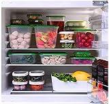 Ikea Pruta Dosen mit Deckel-Lebensmittelcontainer Frischhaltedosen Set 17 gefrier- und spülmaschinenfest