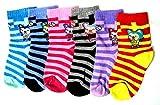 #5: Krystle Boy's|Girl's Printed Kids Cotton Socks (Pack Of 6)