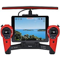Parrot PF725000AE - Skycontroller para Bebop Drone, color Rojo