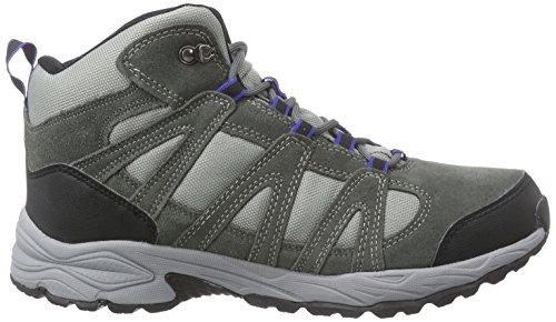 Hi-Tec Alto II Mid WP, Herren Trekking- & Wanderstiefel Grau (Charcoal/Cobalt 051)