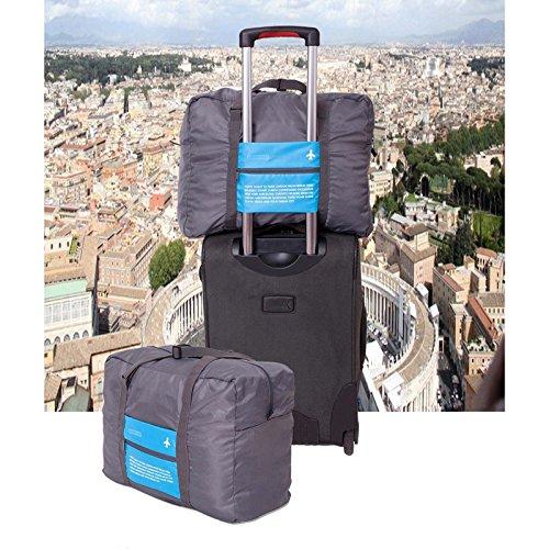 huntgold-large-capacity-canvas-folding-luggage-handbag-fashion-wearable-sports-travel-bag-blue