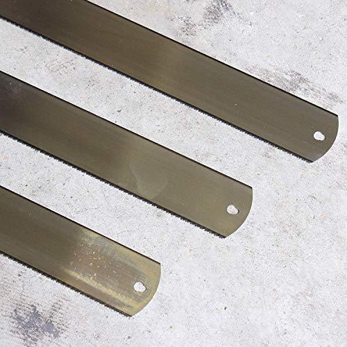 Ulmia OTT Gehrungssägeblätter, 700 x 60 mm, 10 TPI, 3 Stück Made in Germany