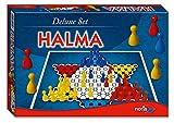 noris 606101266 - Deluxe Halma, bunt